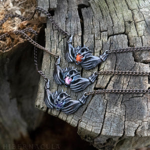 Claddagh Necklace -- Traditional Celtic Friendship Talisman in Bronze or Silver | Hibernacula