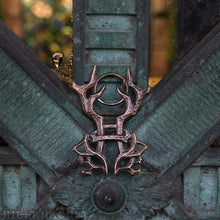 Load image into Gallery viewer, Hibernacula Gate Sigil -- Pendant in Bronze or Silver | Hibernacula