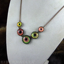 Load image into Gallery viewer, Chimera -- Numina Iris Necklace | Hibernacula