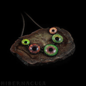 Chimera -- Numina Iris Necklace | Hibernacula