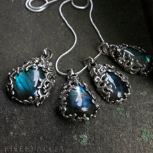 Load image into Gallery viewer, Night in the Forest -- Labradorite in Bronze or Silver | Hibernacula
