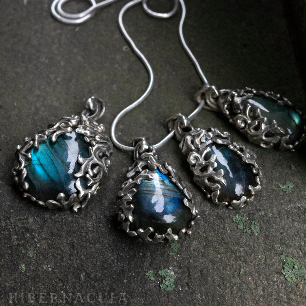 Night in the Forest -- Labradorite in Bronze or Silver | Hibernacula