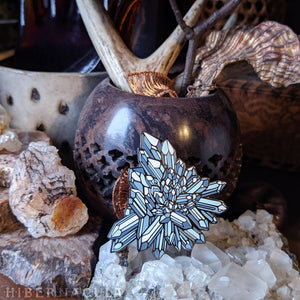 Quartz Crystal Pin | Hibernacula