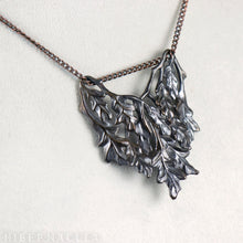 Load image into Gallery viewer, Oak Bough -- Pendant in Bronze or Silver | Hibernacula