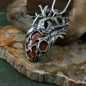 Heart of the Ocean -- Fossil Coral in Bronze or Silver | Hibernacula