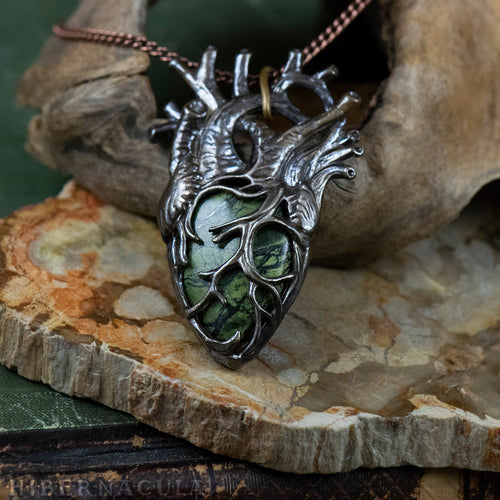 Heart of the Forest, Heart of Stone -- In Bronze or Silver | Hibernacula