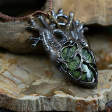 Load image into Gallery viewer, Heart of the Forest, Heart of Stone -- In Bronze or Silver | Hibernacula