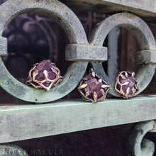 Load image into Gallery viewer, Star Amethyst Amulet -- In Bronze | Hibernacula