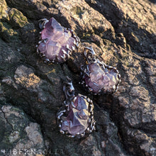 Load image into Gallery viewer, Castle Amethyst Amulet -- Pendant in Silver | Hibernacula