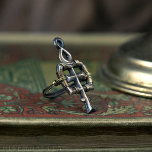 Anima Mundi -- Alchemy Ring in Bronze or Silver | Hibernacula