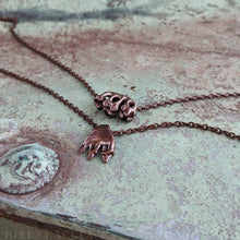 Load image into Gallery viewer, Omnivore Pendant-- In Bronze or Silver | Hibernacula