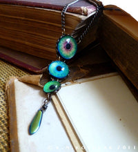 Load image into Gallery viewer, The Dragon's Eye -- Numina Iris Necklace | Hibernacula
