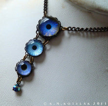 Load image into Gallery viewer, True Blue -- Numina Iris Necklace | Hibernacula