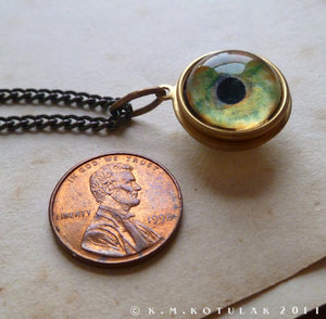 Spherical Numina Iris Pendant -- Bird of Prey, Large | Hibernacula