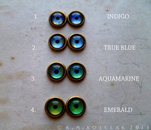 Numina Iris Earrings -- Stud/Hook with 35 Iris Designs | Hibernacula