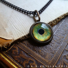 Load image into Gallery viewer, Iris Charm -- Eagle / Medium Pendant | Hibernacula