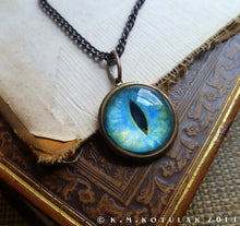 Load image into Gallery viewer, Iris Charm -- Siamese / Large Pendant | Hibernacula