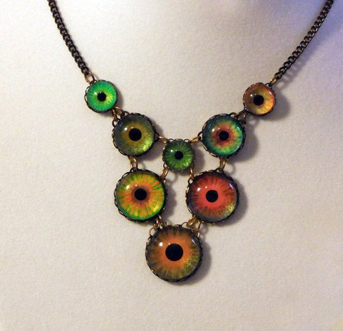 Wildfire -- Numina Iris Necklace | Hibernacula