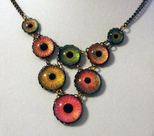 Load image into Gallery viewer, Set The Night On Fire -- Numina Iris Necklace | Hibernacula