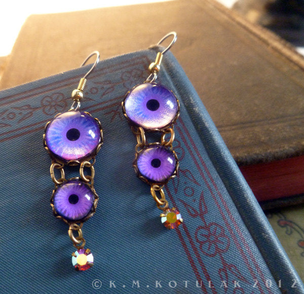 Dreamer -- Numina Iris Earrings | Hibernacula