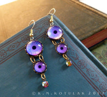 Load image into Gallery viewer, Dreamer -- Numina Iris Earrings | Hibernacula