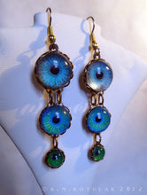 Load image into Gallery viewer, Here Be Dragons -- Numina Iris Earrings | Hibernacula