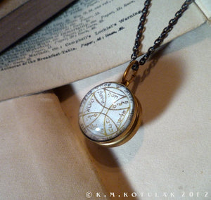 5th & 7th Pentacles of the Sun -- A Talisman for Escape & Travel | Hibernacula