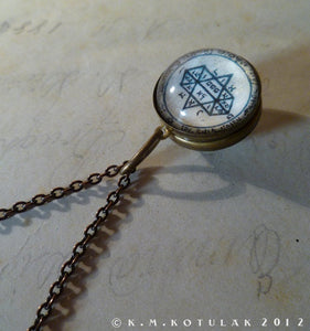 5th Pentacle of Jupiter -- A Talisman for Visions -- Sphere | Hibernacula