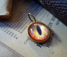 Load image into Gallery viewer, Iris Charm -- Serpent / Large Pendant | Hibernacula