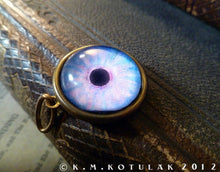 Load image into Gallery viewer, Iris Charm -- Aura / Large Pendant | Hibernacula