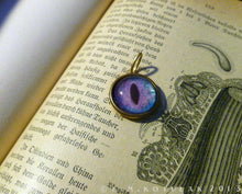 Load image into Gallery viewer, Iris Charm -- Alien / Large Pendant | Hibernacula