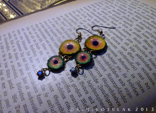 Sun Tribute -- Numina Iris Earrings | Hibernacula