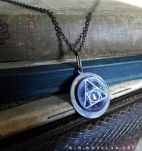 Load image into Gallery viewer, The Philosopher's Stone, Squared Circle -- Hermetic Amulet | Hibernacula