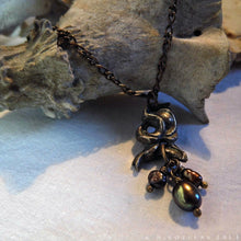 Load image into Gallery viewer, Prima Materia: Root -- Alchemical Pendant in Bronze or Silver | Hibernacula