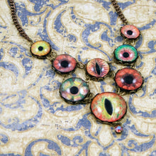 Load image into Gallery viewer, Witch of the Wilds -- Numina Iris Necklace | Hibernacula