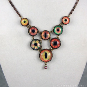 Witch of the Wilds -- Numina Iris Necklace | Hibernacula
