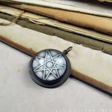 Load image into Gallery viewer, Septagram, The Elven Star -- Brass Pendant | Hibernacula