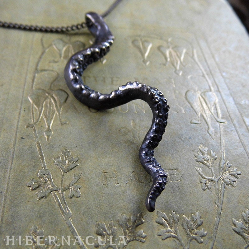 The Tentacle -- Pendant in Bronze or Silver | Hibernacula