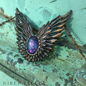Astral Guardian -- Necklace in Bronze or Silver | Hibernacula