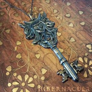 Key of Hecate -- Pendant in Bronze or Silver | Hibernacula
