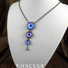 Load image into Gallery viewer, Touch of Frost -- Numina Iris Necklace | Hibernacula