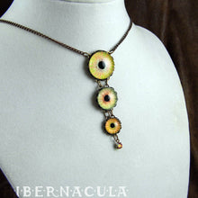 Load image into Gallery viewer, Sun Tribute -- Numina Iris Necklace | Hibernacula