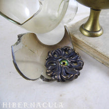 Load image into Gallery viewer, God's Eye -- Iris Pendant in Bronze or Silver | Hibernacula