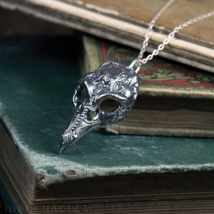 Plague Mask -- Pendant in Bronze or Silver | Hibernacula