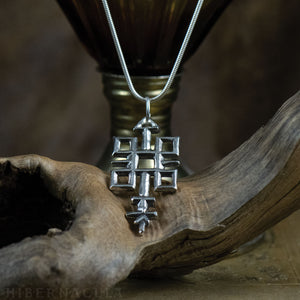 Quincunx -- Alchemical Pendant in Bronze or Silver | Hibernacula