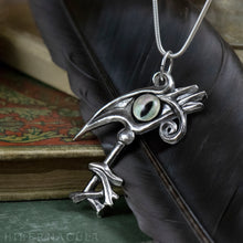 Load image into Gallery viewer, Key of Thoth -- Egyptian Pendant in Bronze or Silver | Hibernacula