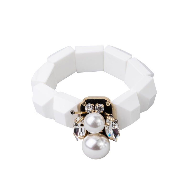 Jewelled Bee Stretch Bracelet
