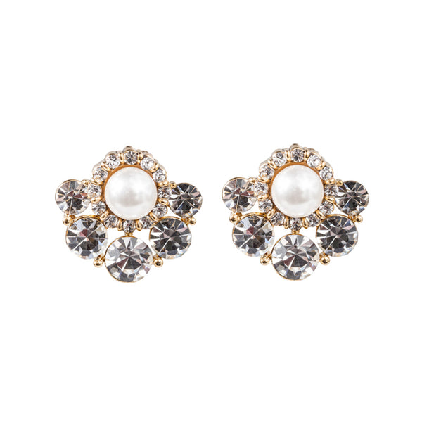 Crystal Swarovski Fan Earrings