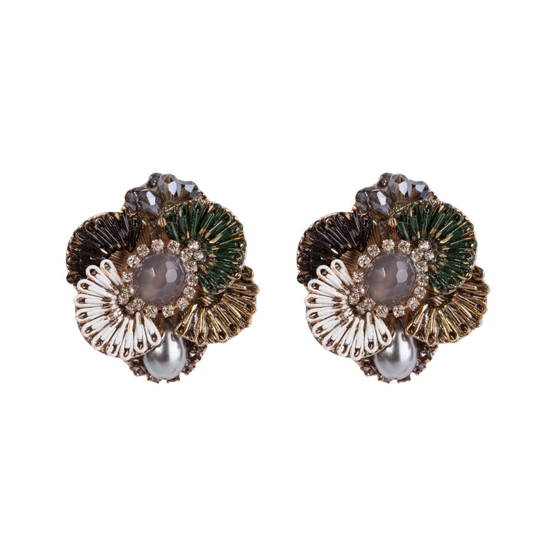 Statement Swarovski Crystal Earrings