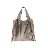 Metallic Shoulder Travel Bag